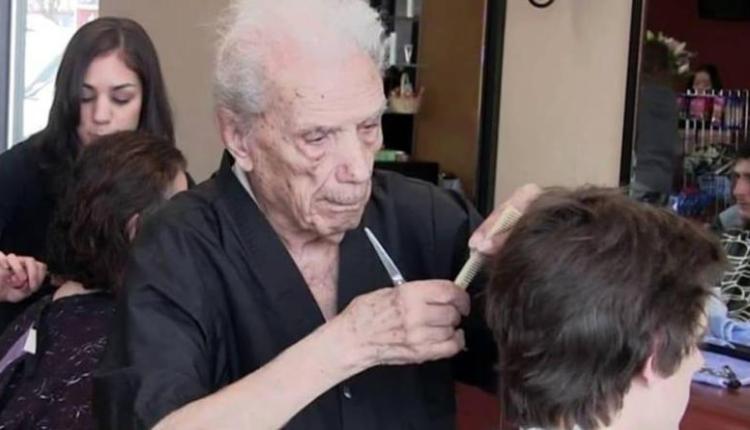 Anthony-Mancinelli, barbiere più anziano del mondo