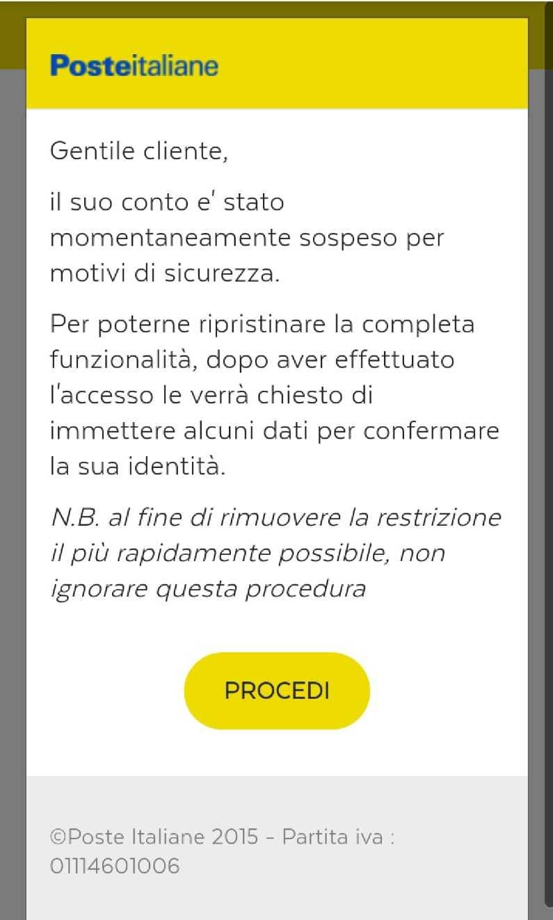 La Finta Notifica Importante Finti Sms Da Poste Italiane