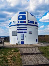 Osservatorio astronomico alla R2-D2