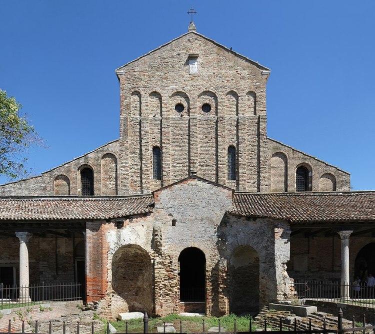 Origini di Venezia, basilica di santa Maria assunta a torcello