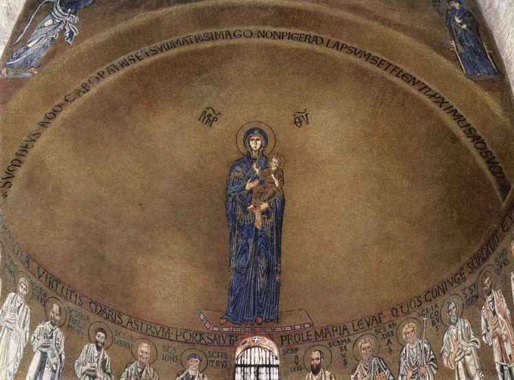 Origini di Venezia, mosaico bizantino, basilica di santa Maria assunta a torcello