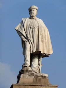 Statua di Giuseppe Garibaldi, ad opera di Augusto Rivalta (Livorno)