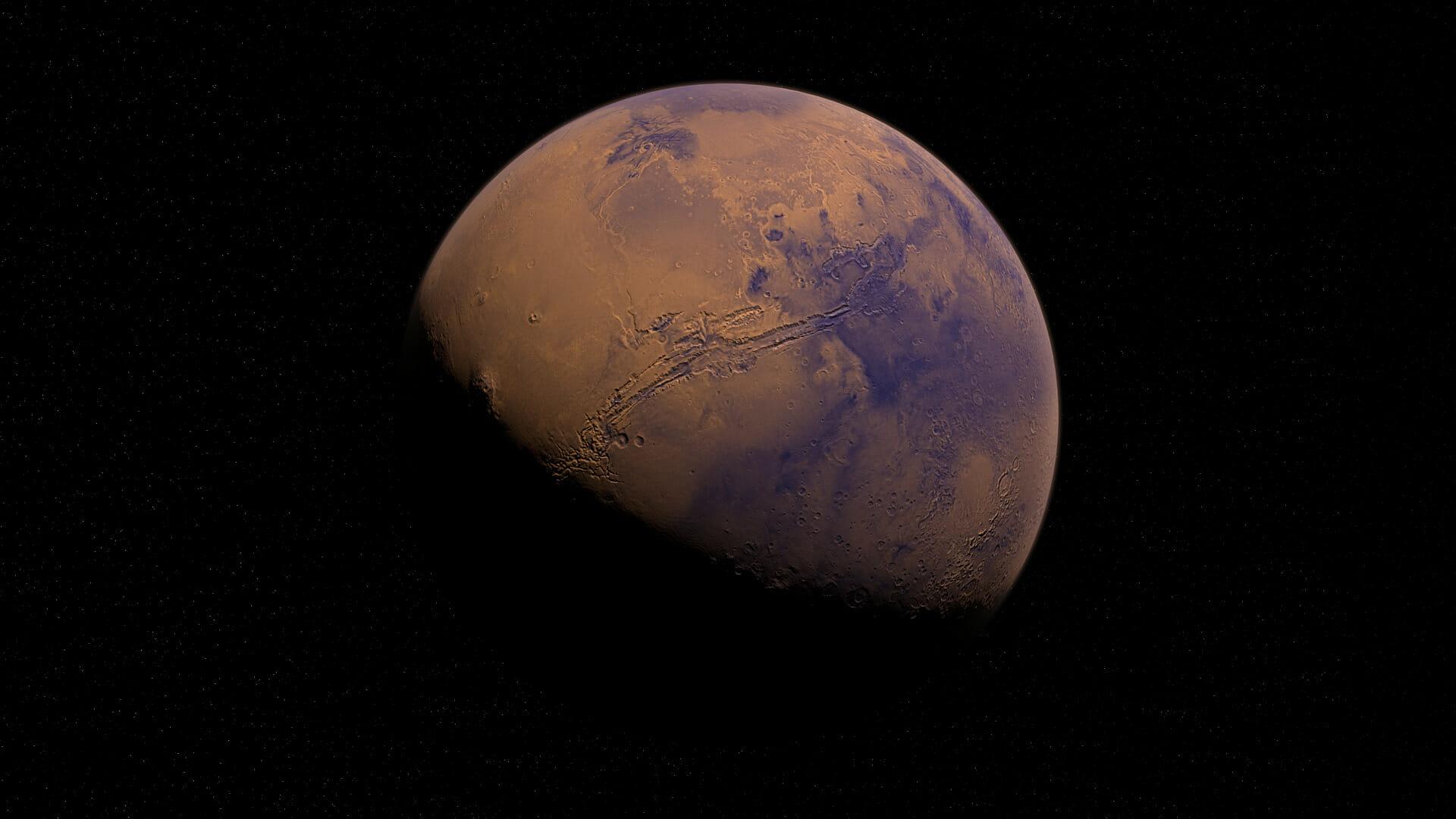 Mappa fluviale di Marte:2