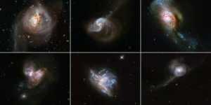 Sei collisioni galattiche:1