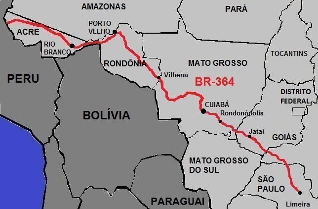 autostrada BR 364 amazzonia-1