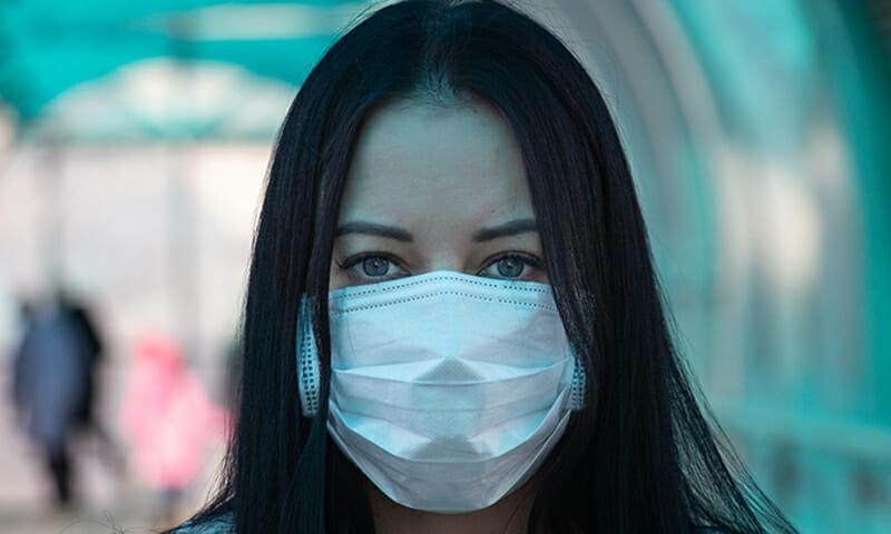 umidità delle mascherine