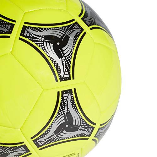 adidas DN8639 Pallone Uomo Solar GialloNeroArgento Met 5