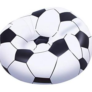 Bestway 75010  Poltrona Pallone Calcio 114 x 112 x 66 Cm