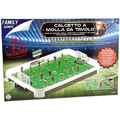 Family Games Calcetto da Tavolo a Molla 174371