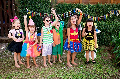 Fontee Medaglie doro 24Pcs Winners Medaglie Regalini per Feste Ricompensa Bambini