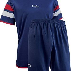 HS SPORTSWEAR S13 Passion Kit Calcio Uomo NavyBiancoRosso M