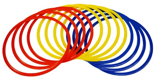 Precision Training Speed Agility Hula Hoops