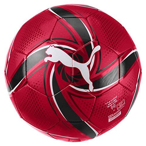 PUMA ACM Future Flare Ball Pallone da Calcio Unisex Adulto Tango Red Black 5
