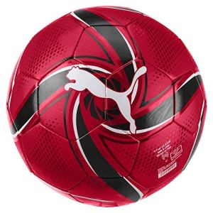 PUMA ACM Future Flare Ball Pallone da Calcio Unisex Adulto Tango Red Black 5