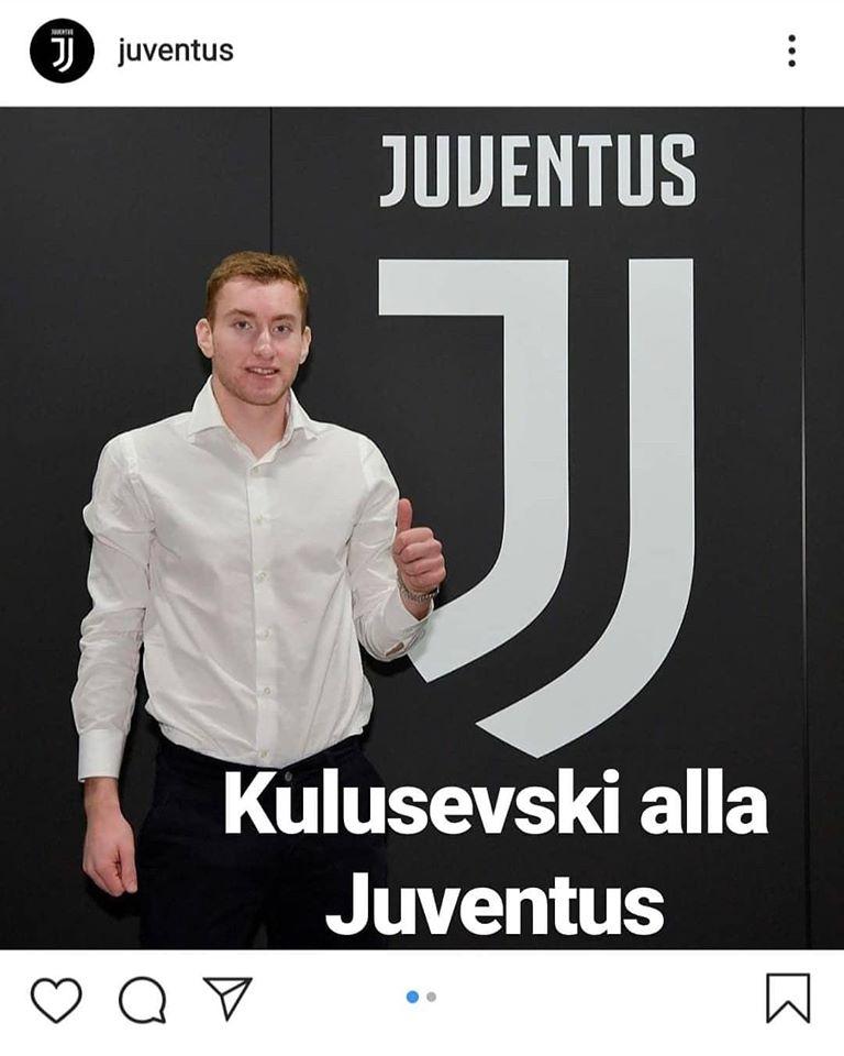 Kulusevski passa alla Juventus