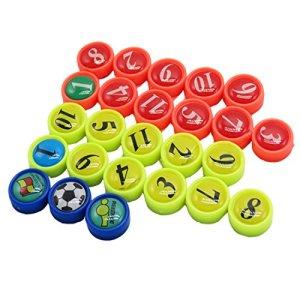 26pezzi Mini magnetico perfetto per calcio tattica tavole Ufficio Lavagna Frigoriferi Carte  Lavagne magnetiche