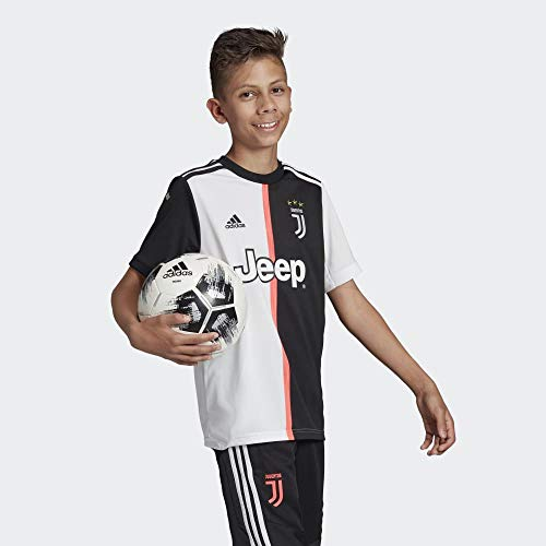 adidas 1920 Juventus Home Youth Jerseys Bambino BlackWhite 1314A