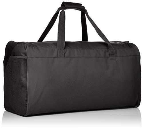 adidas Lin Core Duf M Borsone 55 cm Nero BlackBlackWhite