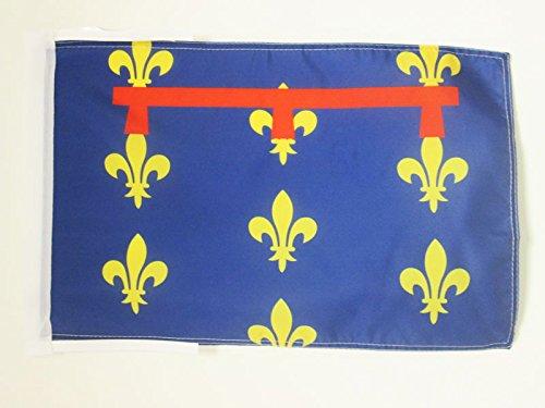AZ FLAG Bandiera Regno di Napoli 12821816 45x30cm  BANDIERINA di Napoli 30 x 45 cm cordicelle