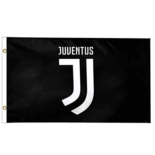 Bandiera ufficiale FC Juventus serie A 100 poliestere e 150 cm x 90 cm