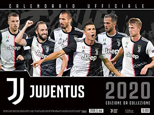 calendario JUVENTUS 2020 prodotto ufficiale cm 44x33