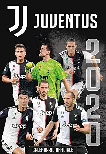 calendario JUVENTUS 2020 prodotto ufficiale cm 29x42