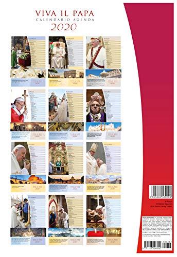 calendario Papa Francesco 2020 cm 29x42