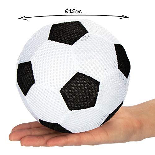 comfour 2X Palla Gonfiabile  Calcio Morbido e pallavolo  Palla per Bambini Morbida per Piscina Spiaggia Giardino e in casa la Selezione Varia