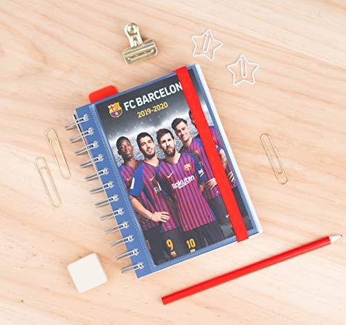ERIK  Diario Scuola Ufficiale con Planner Giornaliero 20192020 10 Mesi  FC Barcelona