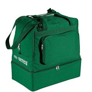 Errea Borsone Basic Kid colore verde con fondo rigido