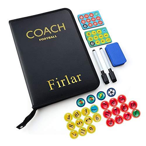 Firlar Coaches lavagna tattica calcio allenatore di Board con matite gomma da cancellare magneti