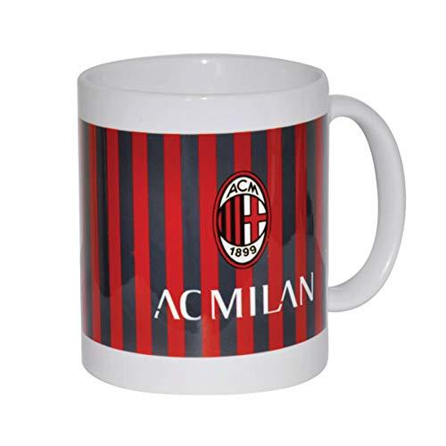 Giemme articoli promozionali  Tazza Mug Ceramica Stemma Milan Prodotto Ufficiale Idea Regalo Calcio Rossoneri