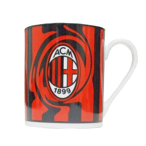 Giemme articoli promozionali  Tazza Mug Cilindrico Milan Prodotto Ufficiale Idea Regalo Calcio Novita New