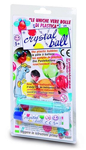 Giochi Preziosi  Crystal Ball Tubetto di Pasta 20g con Cannello di Soffiaggio Colori Assortiti