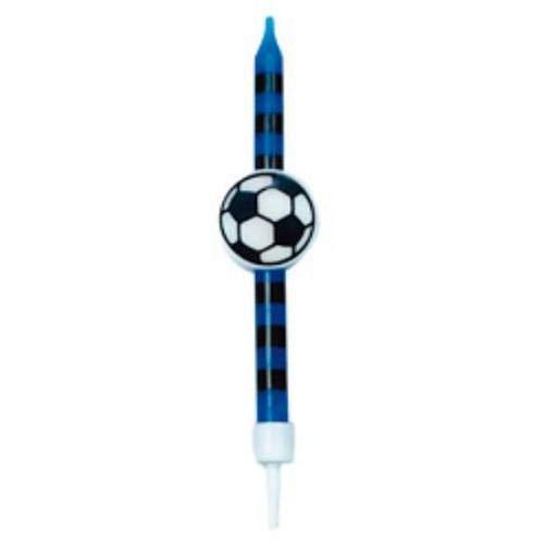 GIVI Itali 51198 Italia 5Candele palloni da Calcio con Supporti NeroBue Multicolore
