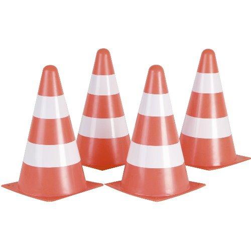 Hudora coni ca25 mm di altezza 10 pz