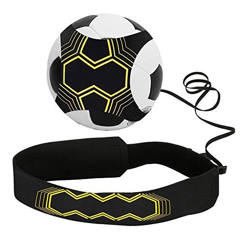 Infreecs Calcio Allenamento col Pallone Calcio Trainer Attrezzatura per Bambini Kit per lAllenamento per Palla