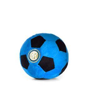 Inter Soccer Ball Plush Ufficiale FC Palla Peluche NeroAzzurro 16 cm