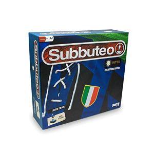 Inter Subbuteo Playset Retro con Tappeto Gioco 2 Porte Pallone e 22 Giocatori