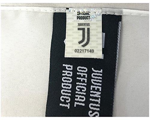 Juventus Bandiera Bianca Nuovo Logo 100 Poliestere