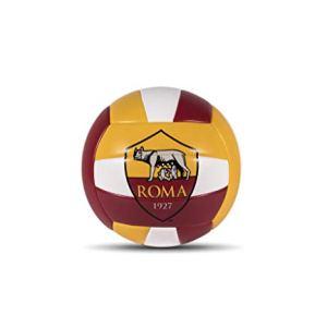 Mondo Sport  Pallone da Volley AS Roma  size 5 pallavolo  270 g  Colore giallorossobianco  13727