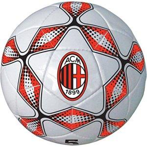 Mondo Toys  Pallone da Calcio cucito AC Milan adultobambino  size 5  300 g  Colore rossonero  13276