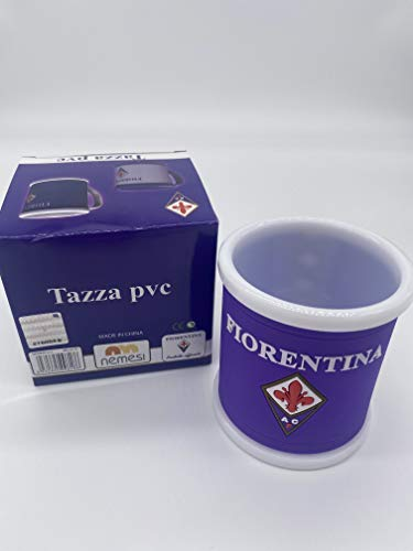nemesi Tazza in PVC ACF Fiorentina Calcio Gadget Ufficiale del Tifoso Viola