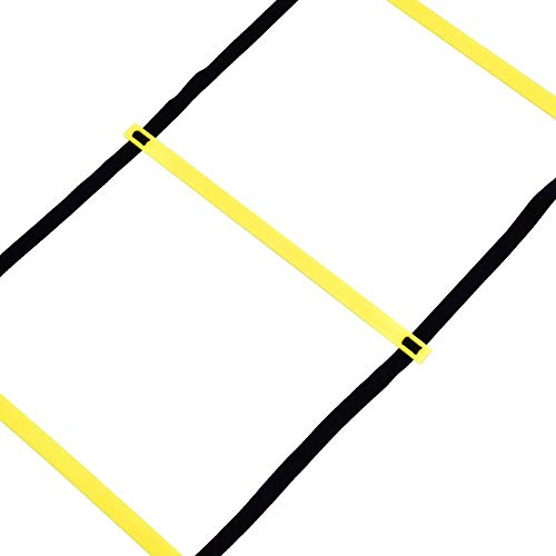 Nimoa Scaletta da Allenamento Pallone da Calcio 4m Calcio Flessibilit velocit Allenamento Palestra da Salto Fitness