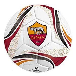 Pallone AS Roma Ufficiale Palla Mondo in Cuoio Misura 2 Size Mini Piccolo PALRMCUPIC415