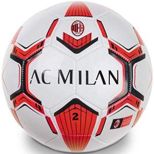 Pallone Milan Ufficiale Palla Mondo in Cuoio Misura 2 Size Mini Piccolo PALMICUPIC716