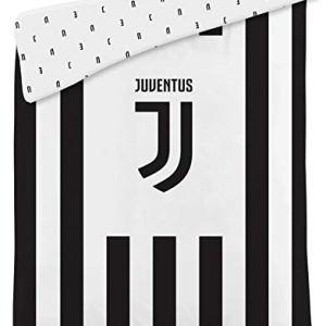 Plaid Coperta Trapunta Juventus FC Logo JJ 260x170cm Originale Serie A Calcio Campionato