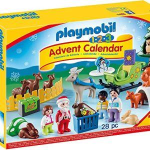Playmobil Calendario dellAvvento Natale nel Bosco degli Animali da 18 Mesi 9391