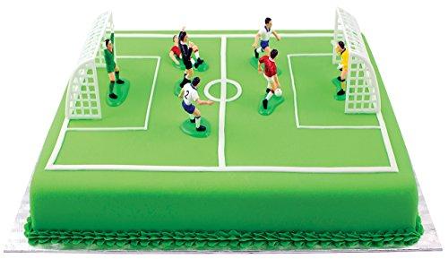 PME FS009 Kit Calcio per Decorazione Torte alluminio Multicolore