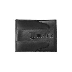 Portafoglio uomo JUVENTUS Nero in pelle con patta 131616